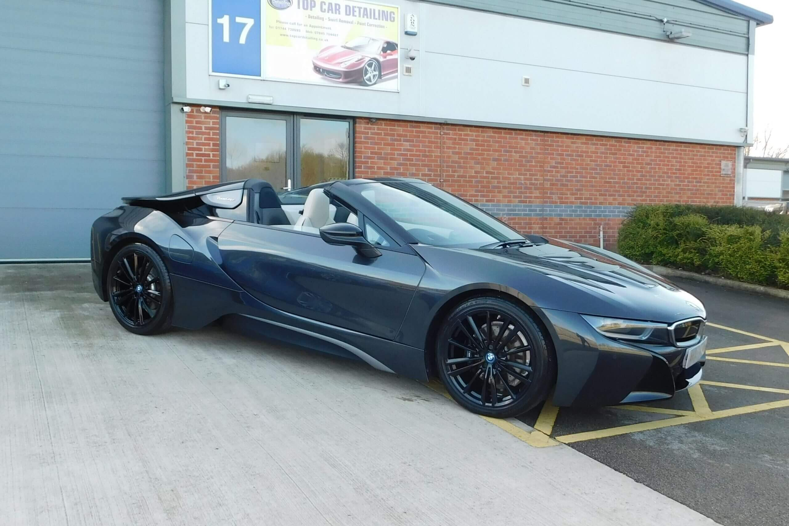 BMW i8 with Ceramic Coating