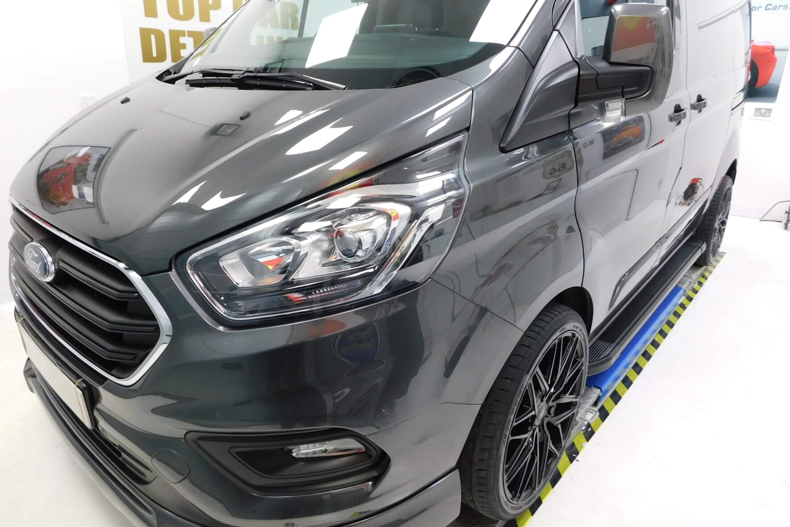 Ford Transit Custom with Ceramic Coating